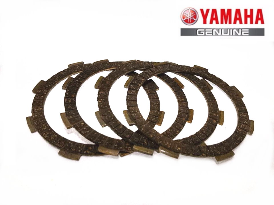 Yamaha YBR 125 clutch plates friction plates, set of 4