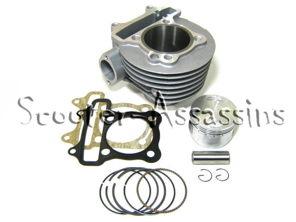 150cc BIG BORE KIT for GY6 scooters